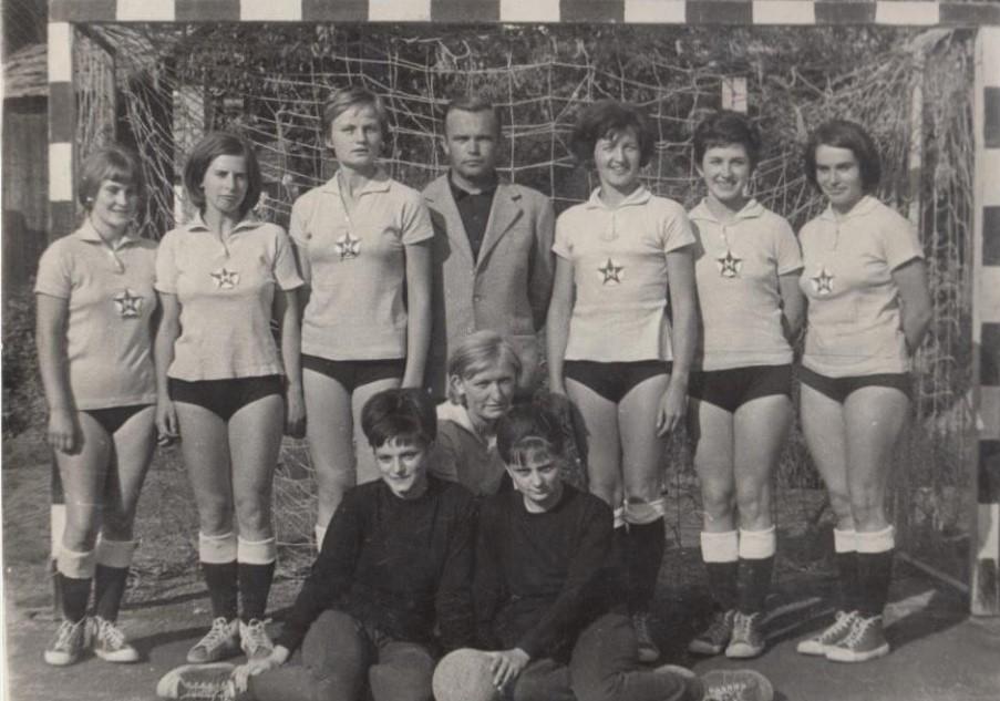 1964-es női csapat